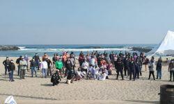 Limpieza en Playa Paraíso de Antofagasta
